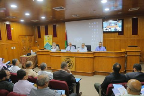 Palestine Polytechnic University (PPU) - PPU DSpace - ROMOR Workshop - On October 8, 2019 - المشاركة في ورشة عمل